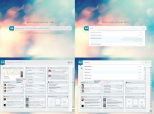 überblick dashboard für den blog